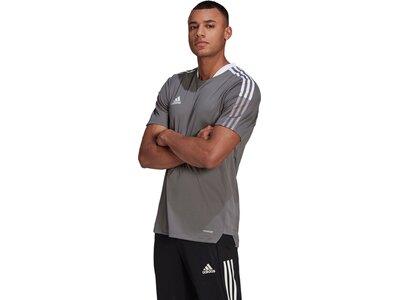 ADIDAS Fußball - Teamsport Textil - T-Shirts Tiro 21 Trainingsshirt ADIDAS Fußball - Teamsport Texti Grau