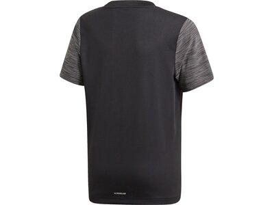 adidas Kinder AEROREADY Heather T-Shirt Grau
