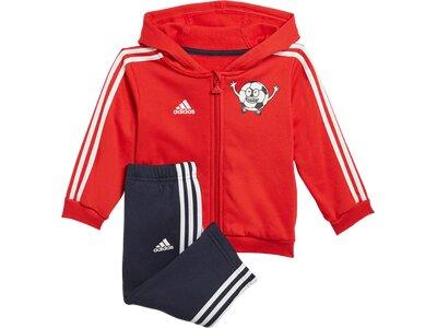 ADIDAS Baby und Kleinkind Trainingsanzug Rot