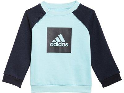 ADIDAS Kinder Sportanzug I 3SLOGO JOG FL Grün