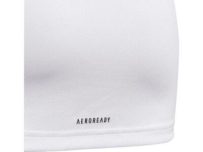 adidas Kinder Designed To Move Big Logo T-Shirt Weiß