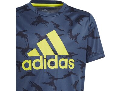 ADIDAS Kinder Shirt B CAMO T Blau