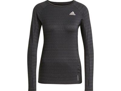 adidas Damen Runner Longsleeve Grau