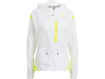 adidas Damen Marathon Translucent Jacke Pink