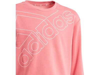 ADIDAS Kinder Sweatshirt G LOGO SWT Pink