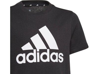 adidas Kinder Essentials T-Shirt Schwarz