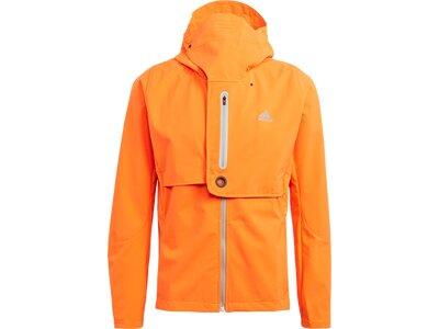 "ADIDAS Herren Windjacke ""Wind Ready Jacket"" Orange"