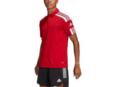 ADIDAS Fußball - Teamsport Textil - Poloshirts Squadra 21 Poloshirt ADIDAS Fußball - Teamsport Texti Rot