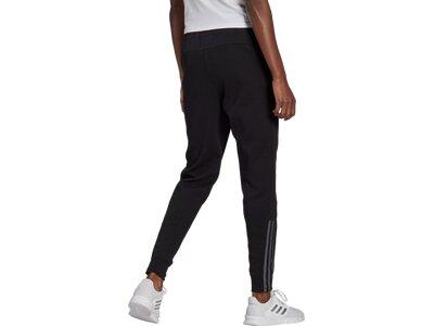 adidas Damen Essentials 3-Streifen Hose Schwarz