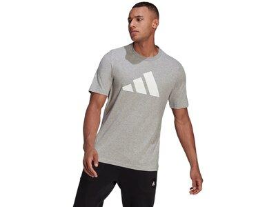 ADIDAS Herren Shirt M FI BOS A Grau