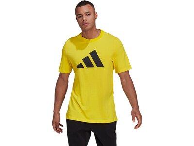 ADIDAS Herren Shirt M FI BOS A Gelb