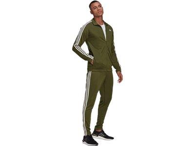 ADIDAS Fußball - Textilien - Anzüge MTS Trio Trainingsanzug Grau
