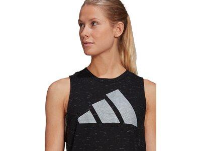 adidas Damen Sportswear Winners Tanktop 2.0 Schwarz