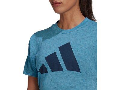 ADIDAS Damen Shirt WIN 2.0 Blau