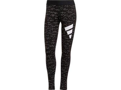 ADIDAS Fußball - Textilien - Hosen 3 Bar Leggings Damen Schwarz