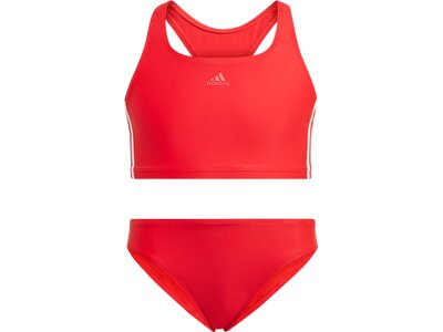 ADIDAS Kinder Bikini FIT 2PC 3S Y Rot