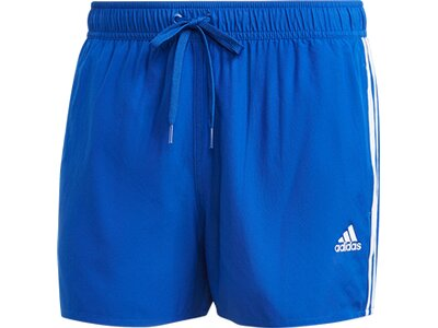 adidas Herren Classic 3-Streifen Badeshorts Blau