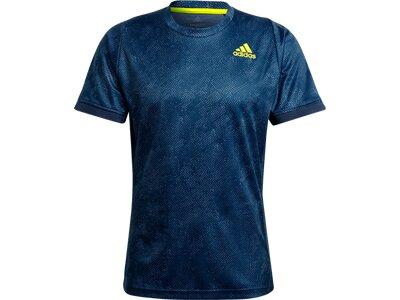 "ADIDAS Herren Tennis T-Shirt ""Freelift"" Blau"