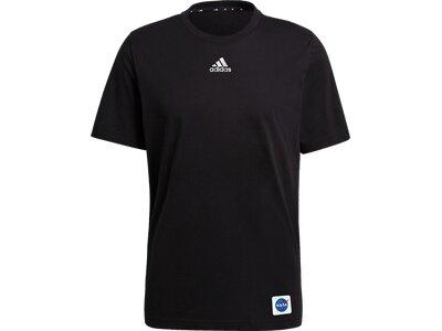 """ADIDAS Herren T-Shirt """"Space"""" Schwarz"""