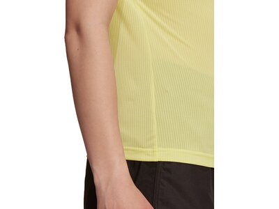 adidas Damen TERREX Primeblue Trail Functional Logo T-Shirt Braun