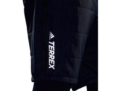 adidas Herren TERREX PrimaLoft Insulation Shorts Schwarz