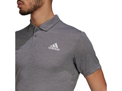 adidas Herren HEAT.RDY Tennis Poloshirt Grau