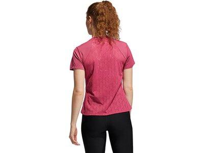 adidas Damen HEAT.RDY Training T-Shirt Rot
