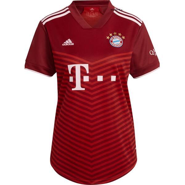 adidas Damen FC Bayern München 21/22 Heimtrikot