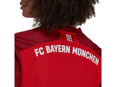 adidas Damen FC Bayern München 21/22 Heimtrikot Rot