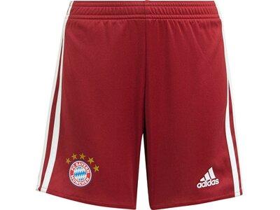 adidas Kinder FC Bayern München 21/22 Mini-Heimausrüstung Rot