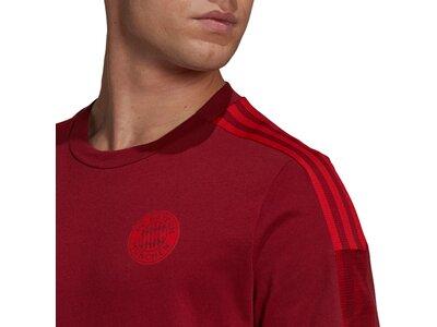 adidas Herren FC Bayern München Tiro T-Shirt Rot