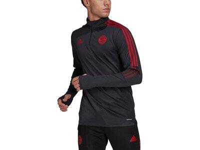 adidas Herren FC Bayern München Tiro Trainingsoberteil Schwarz