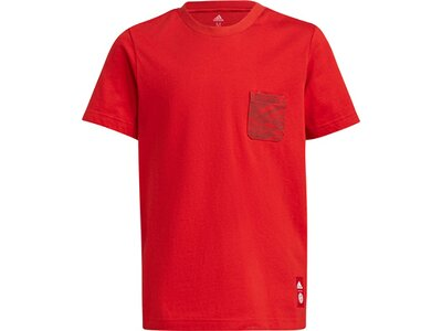 adidas Kinder FC Bayern München T-Shirt Rot