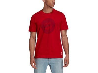 adidas Herren FC Bayern München T-Shirt Silber