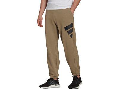 adidas Herren Sportswear Future Icons Logo Graphic Hose Braun