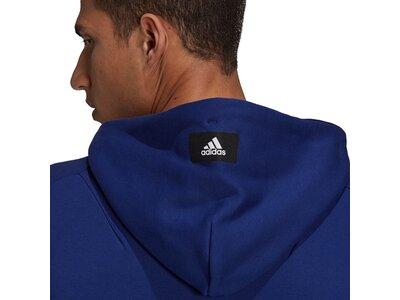 adidas Herren Sportswear Future Icons Logo Graphic Hoodie Blau