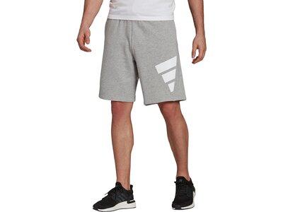 adidas Herren Sportswear Future Icons Logo Graphic Shorts Silber