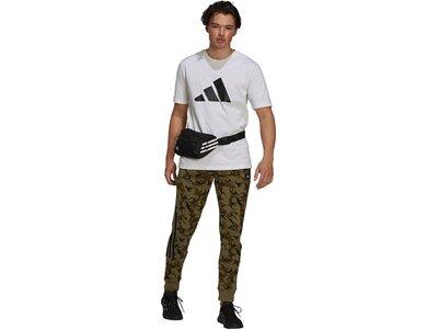 adidas Herren Sportswear Future Icons Logo Graphic T-Shirt Silber