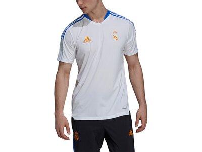 adidas Herren Real Madrid Tiro Trainingstrikot Grau
