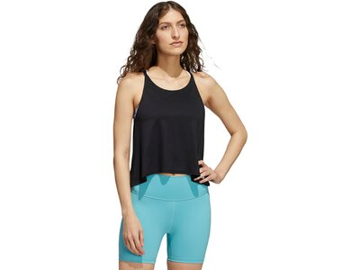 adidas Damen Yoga Tanktop Schwarz