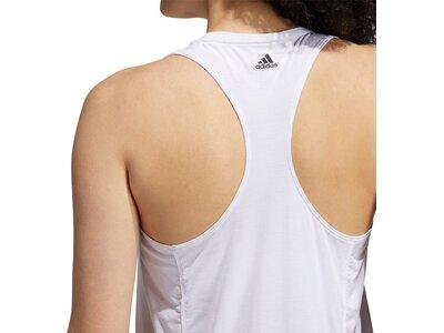 adidas Damen 3-Streifen Logo Tanktop Pink