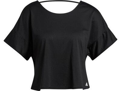 adidas Damen Primeblue T-Shirt Schwarz