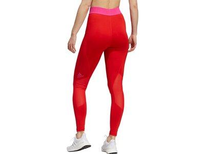 adidas Damen Techfit Badge of Sport Tight Rot