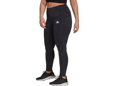 adidas Damen FeelBrilliant Designed To Move Tight – Große Größen Schwarz