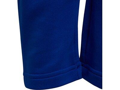 adidas Kinder AEROREADY Primegreen 3-Streifen Tapered Hose Blau
