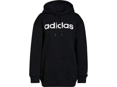 adidas Damen Essentials Oversize Fleece Hoodie Schwarz