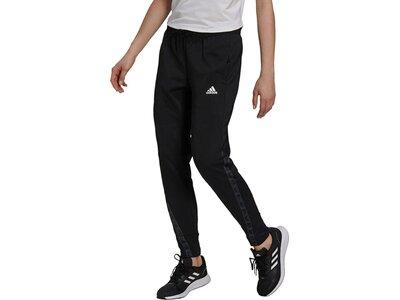 adidas Damen Designed 2 Move Cotton Touch Hose Schwarz