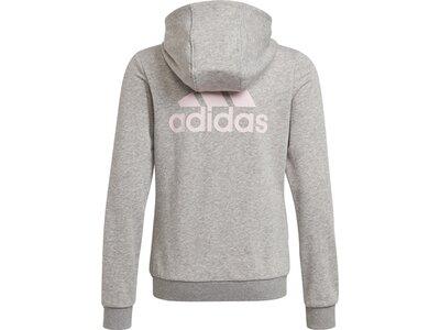 adidas KinderEssentials Trainingsjacke Silber