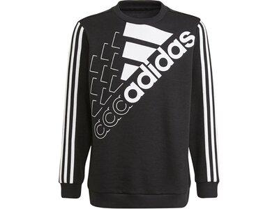 adidas KinderEssentials Logo Sweatshirt – Genderneutral Schwarz