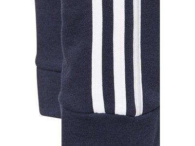 adidas KinderEssentials 3-Streifen French Terry Hose Blau